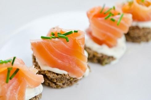 Бутерброды с копченой рыбой рецепты с фото
