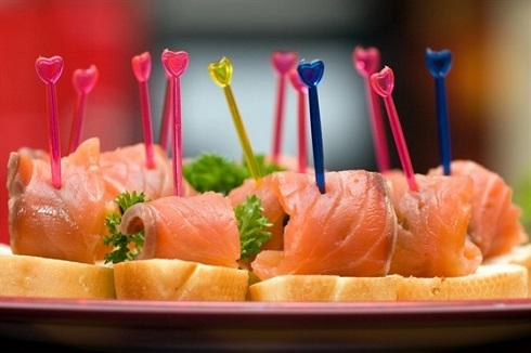 канапе с рыбой рецепты с фото